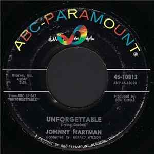 Johnny Hartman - Unforgettable / The Very Thought Of You FLAC