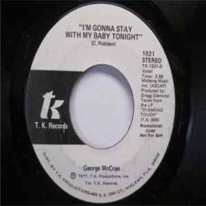 George McCrae - I'm Gonna Stay With My Baby Tonight FLAC