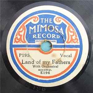 Unknown Artist - Land Of My Fathers / Me & My Shadow FLAC
