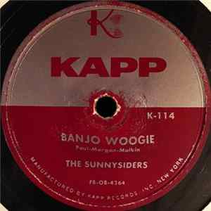 The Sunnysiders / The Happy Harts - Banjo Woogie / I Just Wanna Be By You FLAC